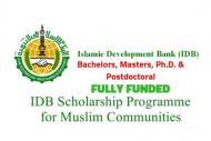 ISDB - Islamic Development Bank Scholarship 2019